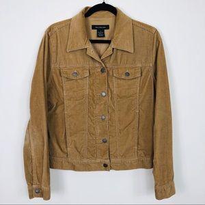Calvin Klein Jeans Tan Corduroy Jacket Size Large